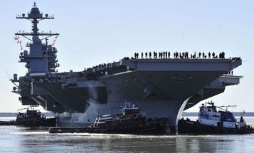 President Trump Will Preside Over Commissioning Of Navy's Newest Aircraft Carrier