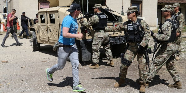 The Army Has Developed An App To Help Soldiers Survive Active-Shooter Situations