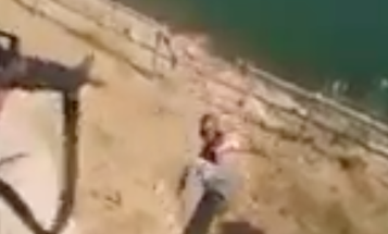 Video Appears To Show Iraqi Soldiers Throwing A Suspected ISIS Militant Off A Building