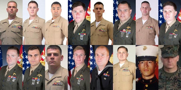 Marine Corps Identifies The 16 Men Killed In KC-130 Crash