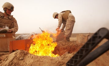 Veterans Who Say Burn Pit Exposure Made Them Sick Wait For Judge's Decision On Lawsuit