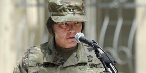 New Commander Is Highest Ranking Female Officer In Afghanistan Since War Began