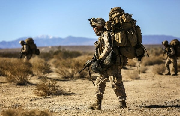 The Marine Corps Goes Light With New Body Armor, Plates, Packs, And Helmets