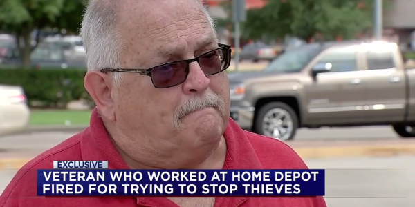 Home Depot Fires 70-Year-Old Army Vet For Trying To Stop Shoplifters