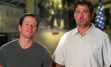 Mark Wahlberg And Marcus Luttrell Team Up To Spread The Word About New Veterans Benefit