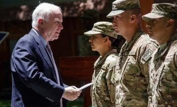 Sen John McCain Diagnosed With A Brain Tumor