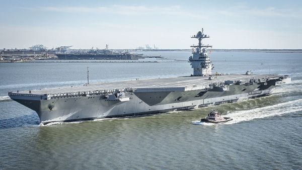 The US Navy's Most Advanced Warship Joins The Fleet Today