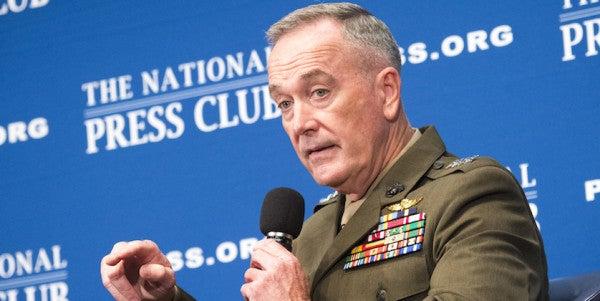 'Horrific' War With North Korea May Still Happen, Gen Dunford Says