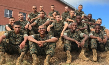 Meet 19 Of America's Newest Marines — And Naturalized US Citizens