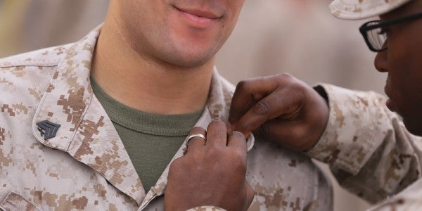 The Marine Corps Is Wondering If Cloth Rank Insignia Is The Way To Go