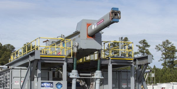 The Navy's Electromagnetic Railgun Just Took A Major Step Forward