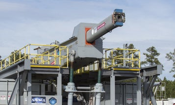 The Navy's Electromagnetic Railgun Just Took A Major Step Forward