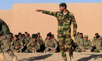 Criminal Probe Launched Over $28 Million 'Forest' Uniforms For Afghan Troops