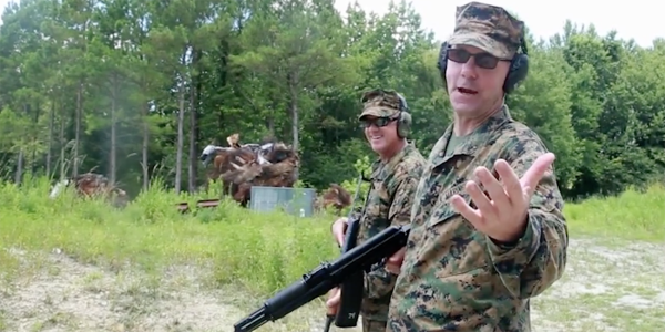Watch These Marines Try To Wreck The Crap Out Of Their New Pack Frame