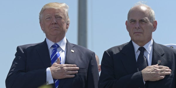 Trump Taps Retired Marine General For White House Chief Of Staff