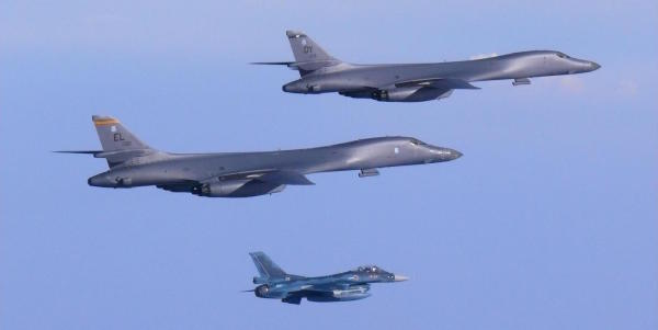 US Sends Pair Of Supersonic Bombers In Show Of Force After North Korea's Second ICBM Test