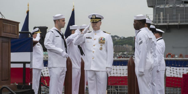 Navy Officially Blames Captain For Running His Missile Cruiser Aground