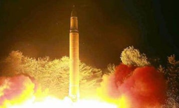 North Korea's Latest ICBM Test Failed Critically In The Last Few Seconds Before Impact