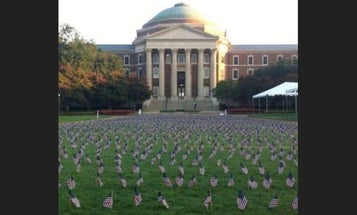 Student Group Forced To Move 9/11 Flag Display To Protect Others From 'Harmful Or Triggering' Messaging