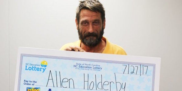 This Army Veteran Just Won A Huge Jackpot In The North Carolina Lottery