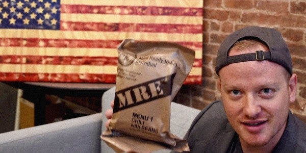 Watch These Vets Duke It Out In An MRE Iron Chef Challenge