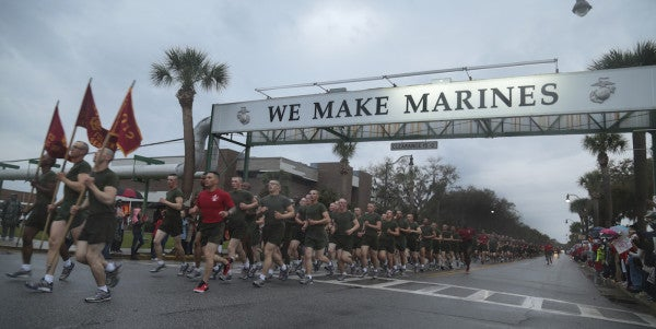 Witnesses Apparently Saw Parris Island Recruit Intentionally Jump From Building