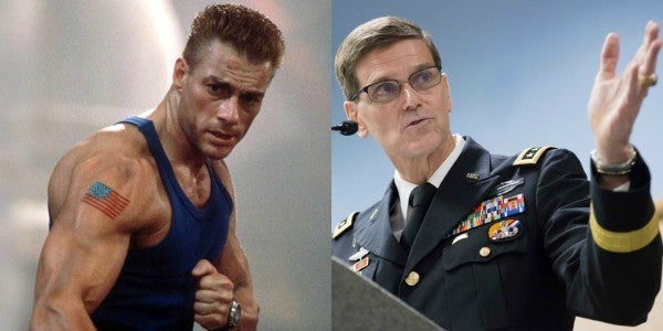 CENTCOM Gen Votel Is Basically Col Guile From That Awful 1994 'Street Fighter' Movie