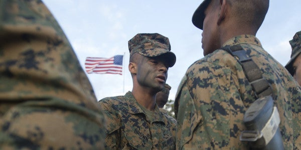 How This Parris Island Drill Instructor Saved A Recruit's Life (From A Sandwich)