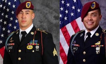 DoD Identifies Fort Bragg Soldiers Killed In Afghanistan