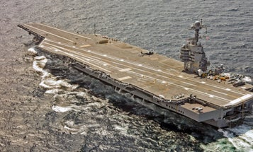 The Navy may be done with the Ford-class aircraft carrier