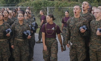 The Marine Corps says all-male boot camp companies will soon be 'obsolete'