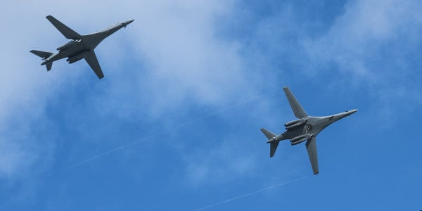 As North Korea Threatens Guam, US Runs Joint Bomber Drills… Out Of Guam