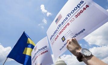Active-Duty Troops Sue Trump Over His Transgender Ban
