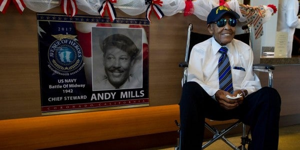 102-Year-Old Trailblazing World War II Vet Receives Extremely Rare Navy Honor