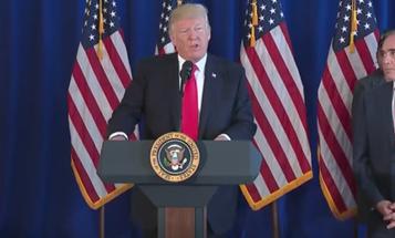 Trump Signs $3.9 Billion VA Funding Bill To Avert Crisis For Choice Program