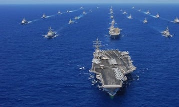 Here's All The US Navy Firepower On Alert In The Pacific To Keep North Korea In Check