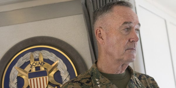 Dunford: US 'Prepared To Respond' To North Korea If Deterrence Fails