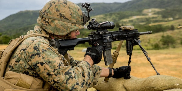 The Corps Just Issued An Intent Notice To Buy 50,000 M27 Rifles