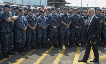Mattis To Sailors: 'You're Not Some P—y Sitting On The Sidelines'
