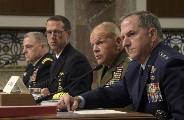 Here's How Military Leaders Have Responded To The Extremism On Display In Charlottesville