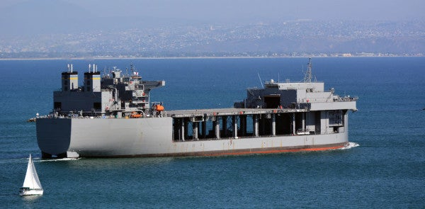 This Support Vessel Named For Marine Legend Chesty Puller Just Became A Navy Warship