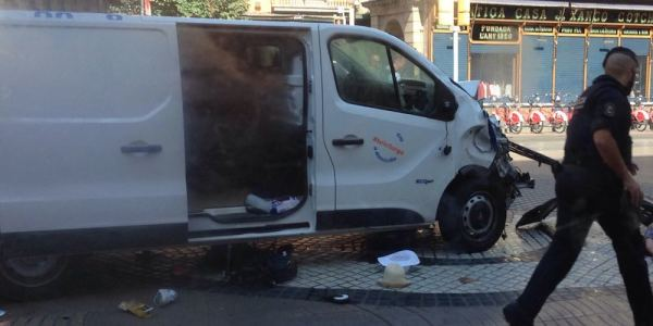 Van Plows Into Tourist-Heavy Crowds In Barcelona In Apparent Attack