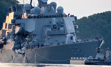 Navy Fires Top 2 Officers Of Fitzgerald For Collision That Killed 7 Sailors