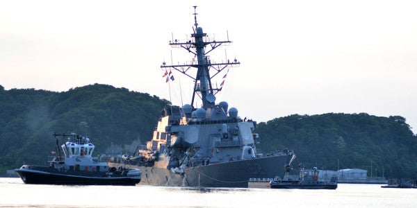 Escape From Berthing 2: The Navy's Dramatic Timeline Of The USS Fitzgerald's Fatal Collision