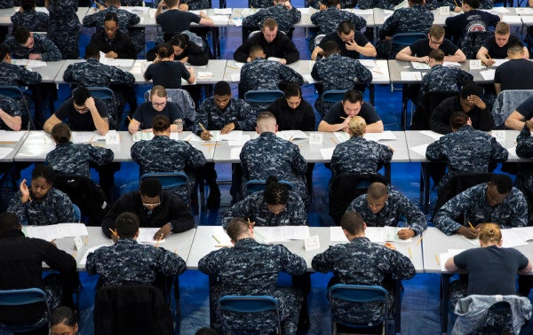 New Navy Rule Will Allow Commanders To Reverse E-4 Demotions