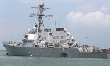 3 Missing Sailors Identified As Search Continues For McCain Survivors