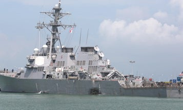 The McCain Collision Was The 7th Fleet's Fourth Major Mishap Of 2017