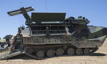Amtrac Marines Are Getting Their Mine Clearance Launchers Back