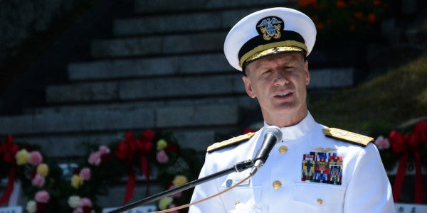 Navy To Remove 7th Fleet Commander Following Fitzgerald, McCain Collisions