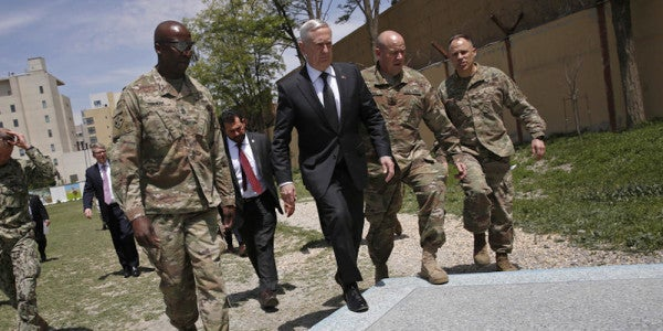 Afghanistan Is Officially Mattis' War Now